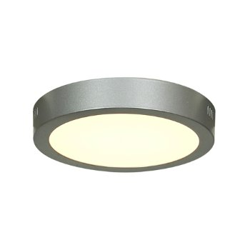 Strike LED Round Flushmount (Silver/Large) - OPEN BOX RETURN