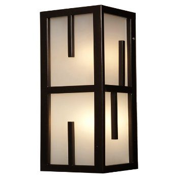 Zen Marine Grade Outdoor Vertical Wall Sconce