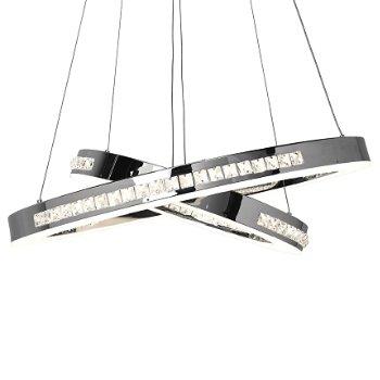 Affluence LED Dual Ring Pendant