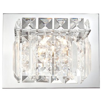 Crown Wall Sconce (Chrome) - OPEN BOX RETURN