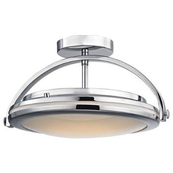Quincy LED Semi-Flushmount