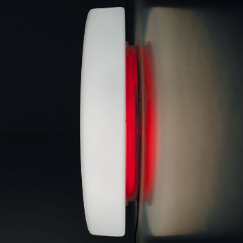 Drum Wall/Ceiling Light (Red/Small) - OPEN BOX RETURN