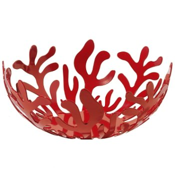 Mediterraneo Fruit Basket (Red/Small) - OPEN BOX RETURN