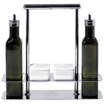 Trattore Olive Oil Set (Stainless Steel) - OPEN BOX RETURN