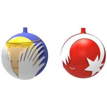 Palle Presepe Small Ornament Set 3 (Multi) - OPEN BOX RETURN