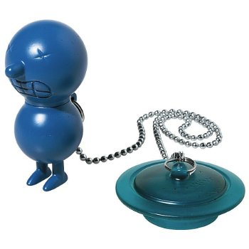 Mr. Suicide Bathtub Plug (Blue) - OPEN BOX RETURN