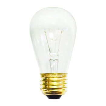 11W 130V S14 E26 Clear Bulb