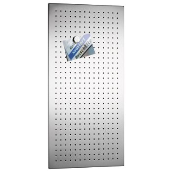MURO Perforated Magnet Board (15.75 x 31.5 inch) - OPEN BOX