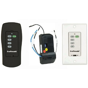 Universal Intelligent Receiver, Hand Set & Wall Control