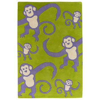 Kids Monkey Rug