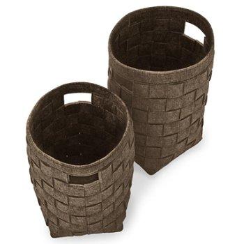 Hub Storage Baskets Set of 2