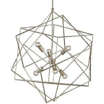 Aerial Chandelier (Silver Granello) - OPEN BOX RETURN