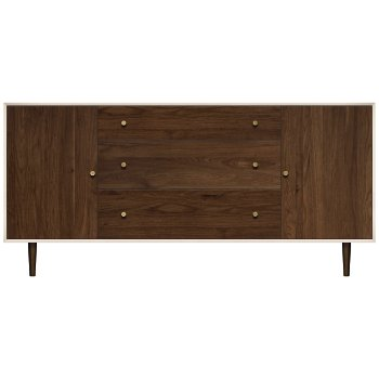 MiMo 3 Drawers Between 2 Doors Dresser