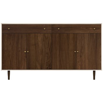 MiMo 2 Drawer/4 Door Dresser