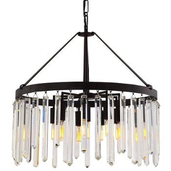 Luna Wide Chandelier By Crystorama At Lumens Com