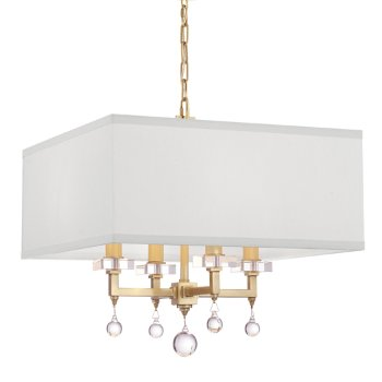 Paxton Chandelier with Square Shade