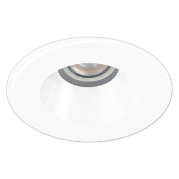 "ECO 2 LED 3 1/2"" White Reflector Trim"