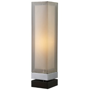 Volant Table Lamp (Chrome/Espresso) - OPEN BOX RETURN
