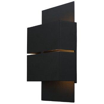 Kibea Outdoor LED Wall Sconce (Matte Black) - OPEN BOX