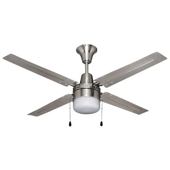 Urbana Ceiling Fan (Brushed Chrome) - OPEN BOX RETURN