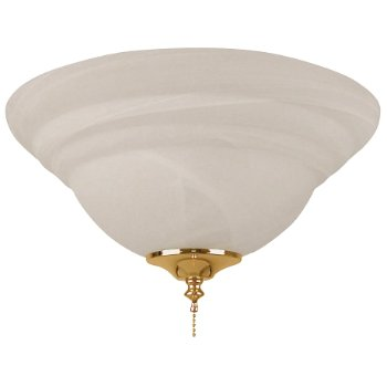 Bowl Light Kit with Alabaster Glass
