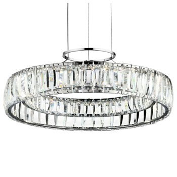 Annette LED Crystal Chandelier by Elan Lighting at Lumens.com