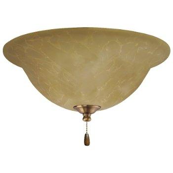 Amber Parchment LED Light Fixture