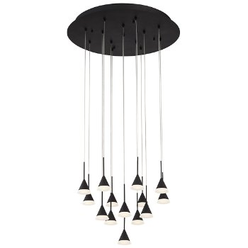 Albion Round Multi Light LED Pendant