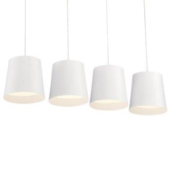 Borto 4-Light LED Linear Suspension
