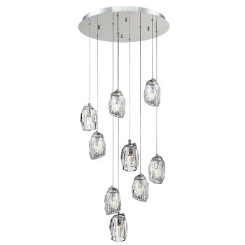 Diffi Round Multi Light Pendant