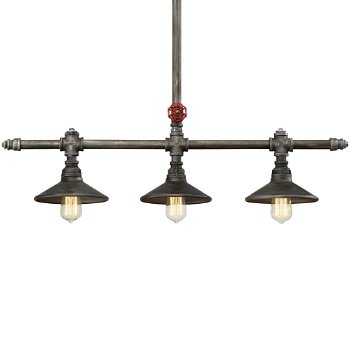 Zinco 3-Light Linear Suspension