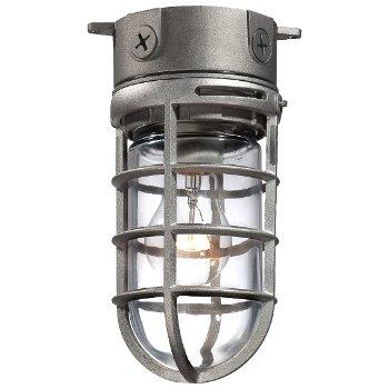23265 Outdoor Flushmount (Satin Nickel) - OPEN BOX RETURN