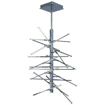 Kriss Kross LED 16-Light Pendant