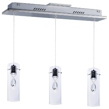 Solitaire LED Linear Suspension