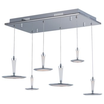 Hilite Rectangular Multi-Light Pendant