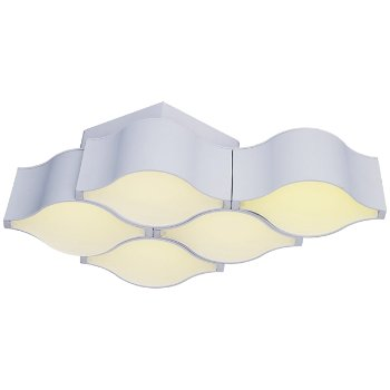 Billow 5-Light LED Wall Sconce / Semi-Flushmount