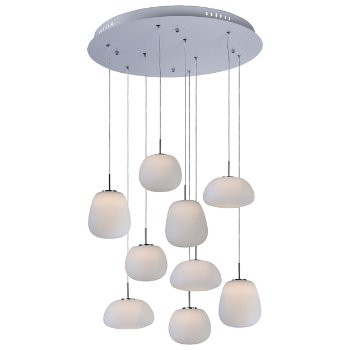 Puffs LED Multi-Light Pendant
