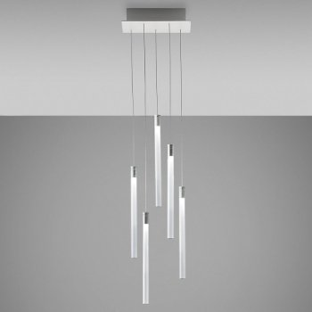 Tooby Rectangular LED Multi-Light Pendant