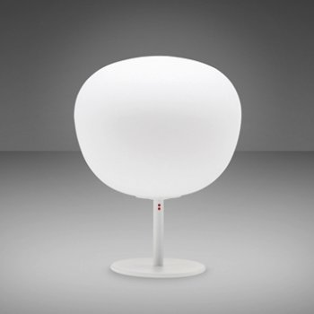 Lumi - Mochi Table Lamp with Stand (White) - OPEN BOX RETURN