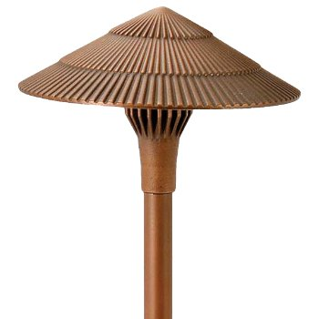 Brass Panel LED Tiki Area Light