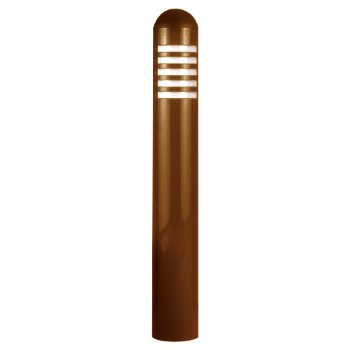 Copper Flat Panel LED Bollard Path Light