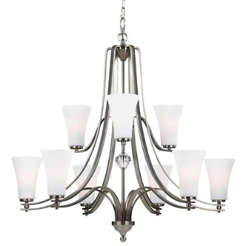 Evington 2-Tier Chandelier with Shade
