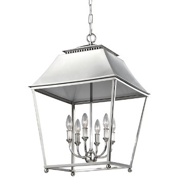 Galloway 6-Light Pendant (Polished Nickel) - OPEN BOX RETURN