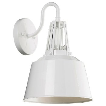 Freemont Outdoor Wall Sconce (Gloss White) - OPEN BOX RETURN