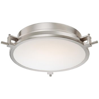 Loupe LED Flushmount (Brushed Nickel) - OPEN BOX RETURN