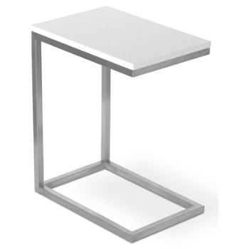Bishop Table (White) - OPEN BOX RETURN