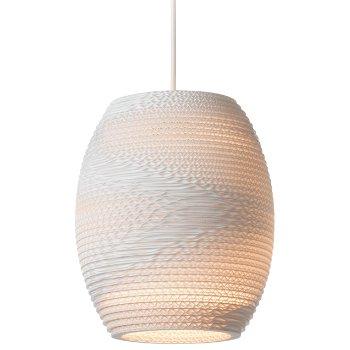Oliv White Scraplight Pendant