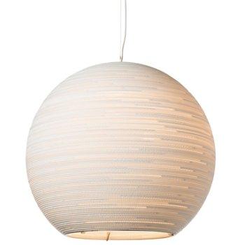 Sun White Scraplight Pendant