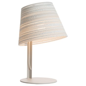 Tilt White Scraplight Table Lamp