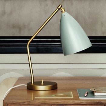 grasshopper table lamp by gubi at. Black Bedroom Furniture Sets. Home Design Ideas